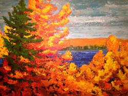 Gull Lake, Algoma, Margaret Cresswell 2014
