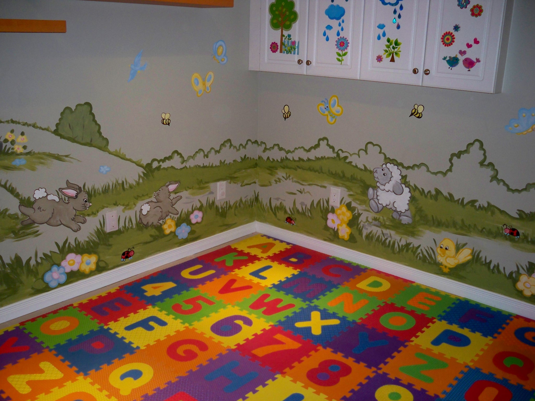 Murals By Marg Genevieve's Playroom Mural 3.JPG