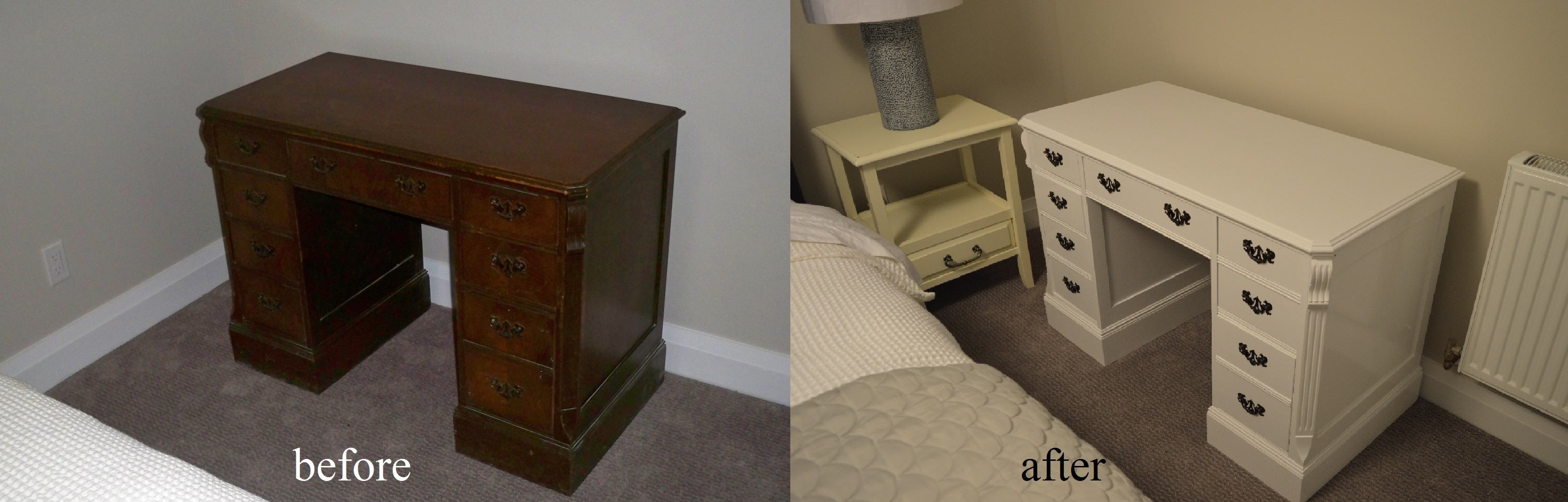 Murals By Marg Painted Furniture Antique Desk