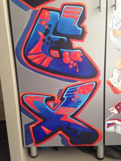 Murals By Marg Alex's Sports Locker 8