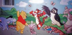 Murals By Marg Winnie and Friends Playroom Mural 3.JPG