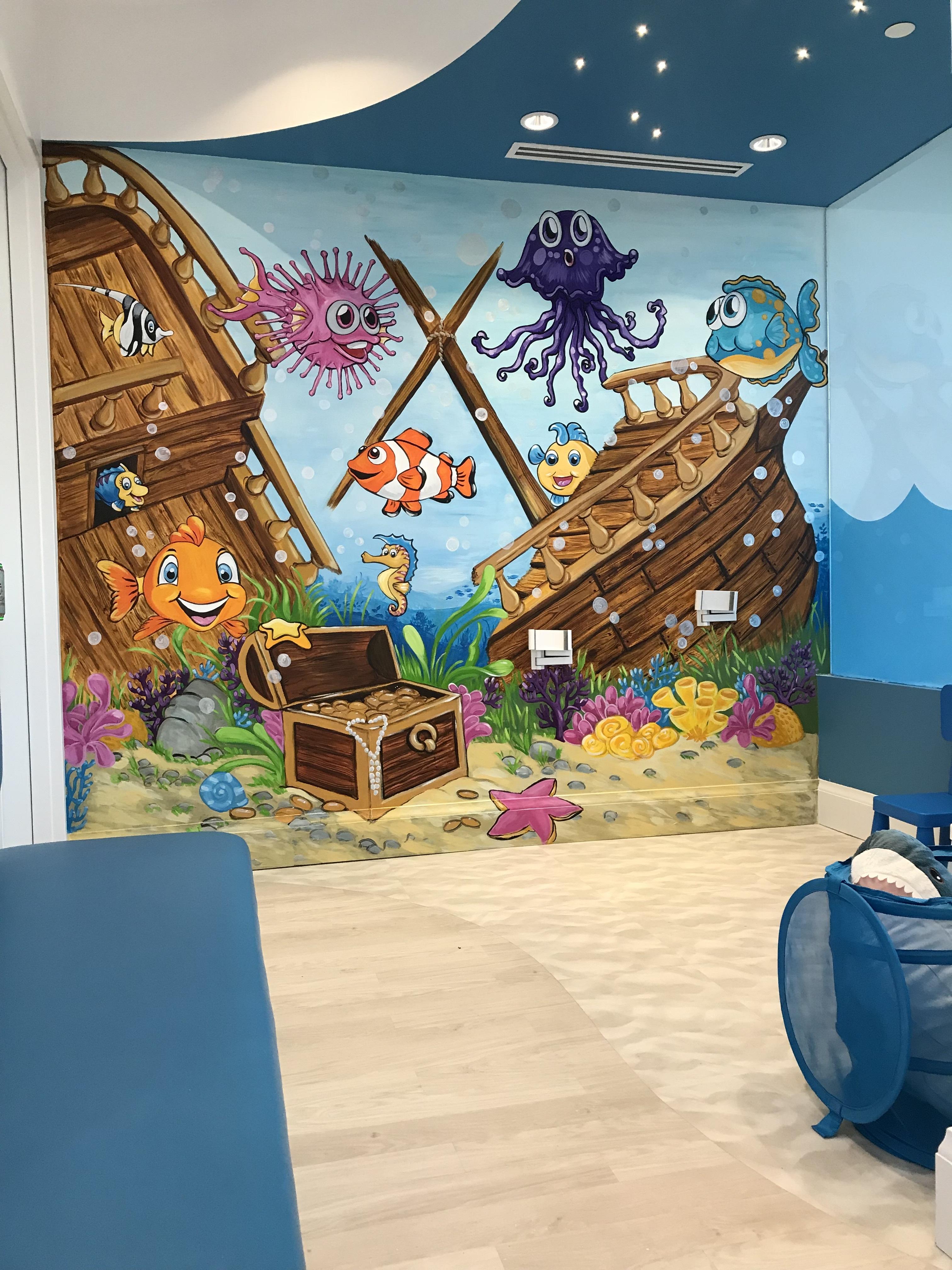 Murals By Marg- Atlantis Dentistry
