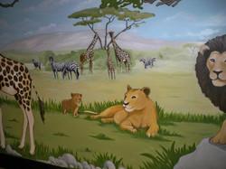 Murals By Marg Safari Mural 32