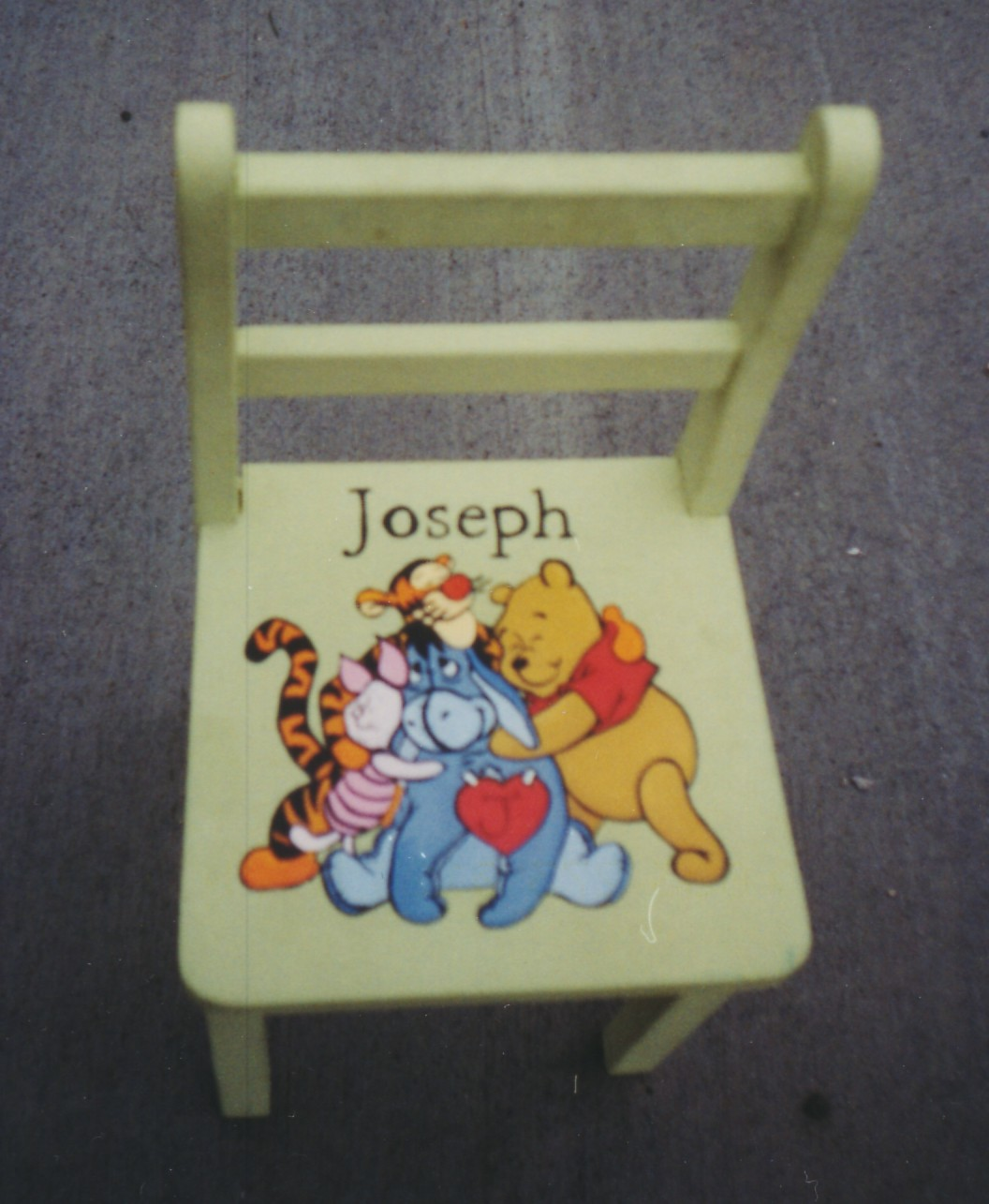 Murals By Marg Hand Paitned Furniture Joseph's Chair.jpg
