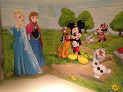 Murals By Marg Frozen Mural 13