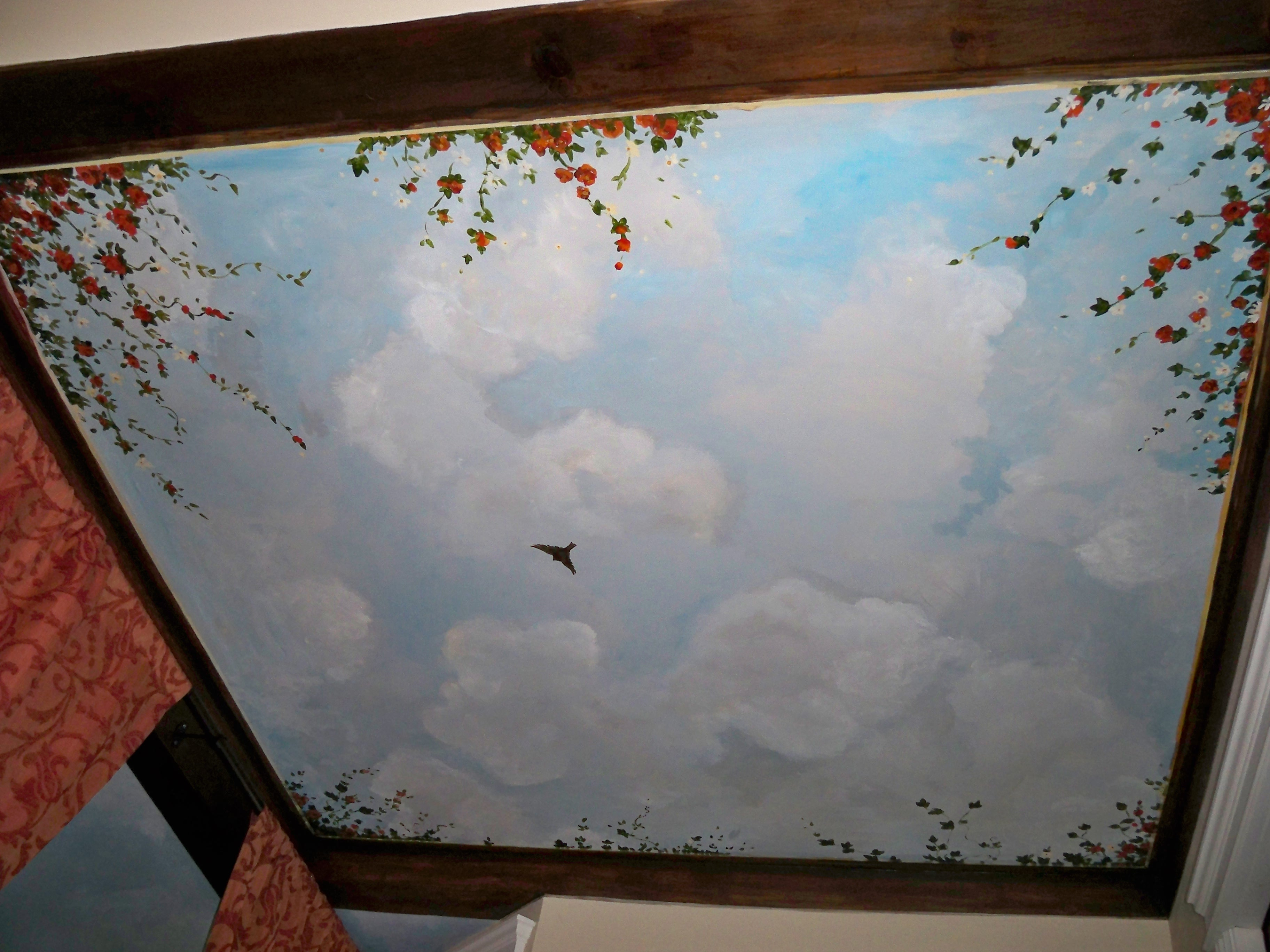 Murals By Marg Ceiling Mural 36