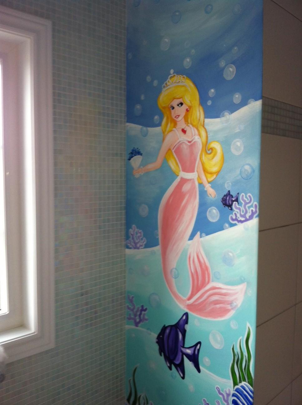 Murals By Marg Mermaid Bathroom Mural.JPG