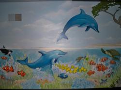 Murals By Marg Safari Mural 25