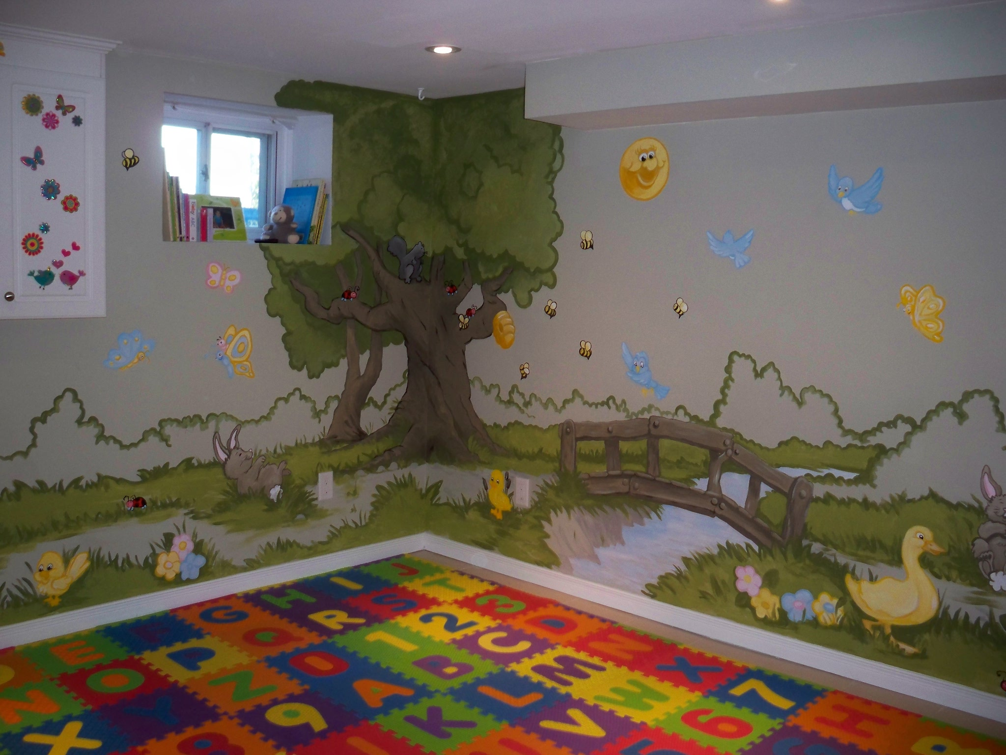 Murals By Marg Genevieve's Playroom Mural 5.JPG