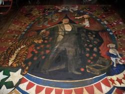 Murals BY Marg Hand Painted Floor Cloth Magic! 2.JPG