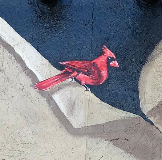 Murals By Marg MPV BIA Mural Blue Cardin
