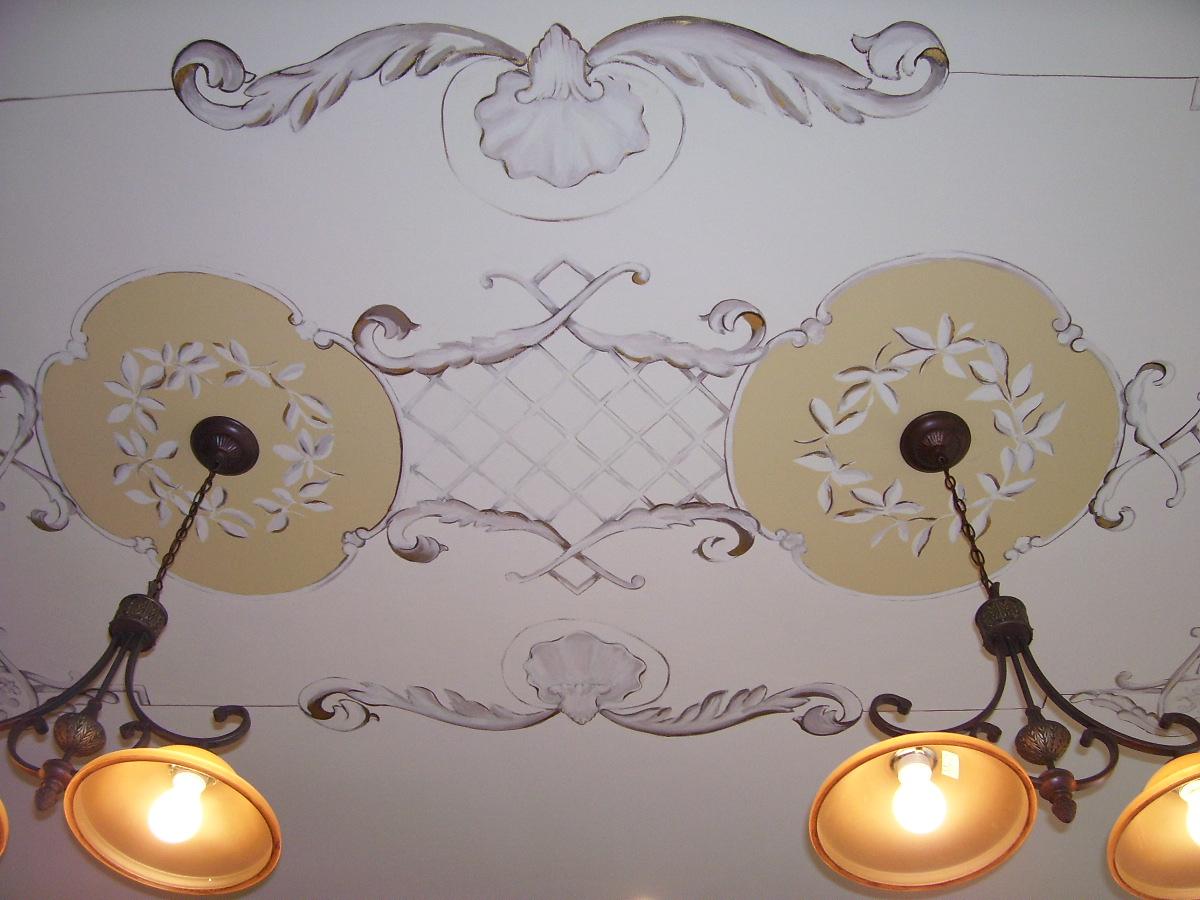 Murals By Marg Ceiling Mural in Kitchen 1.jpg