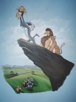 Murals By Marg Lion King Nusery Mural.JPG