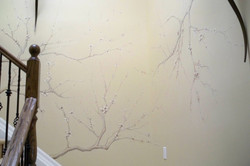 Murals By Marg Hand Painted Cherry Blossoms 2.JPG