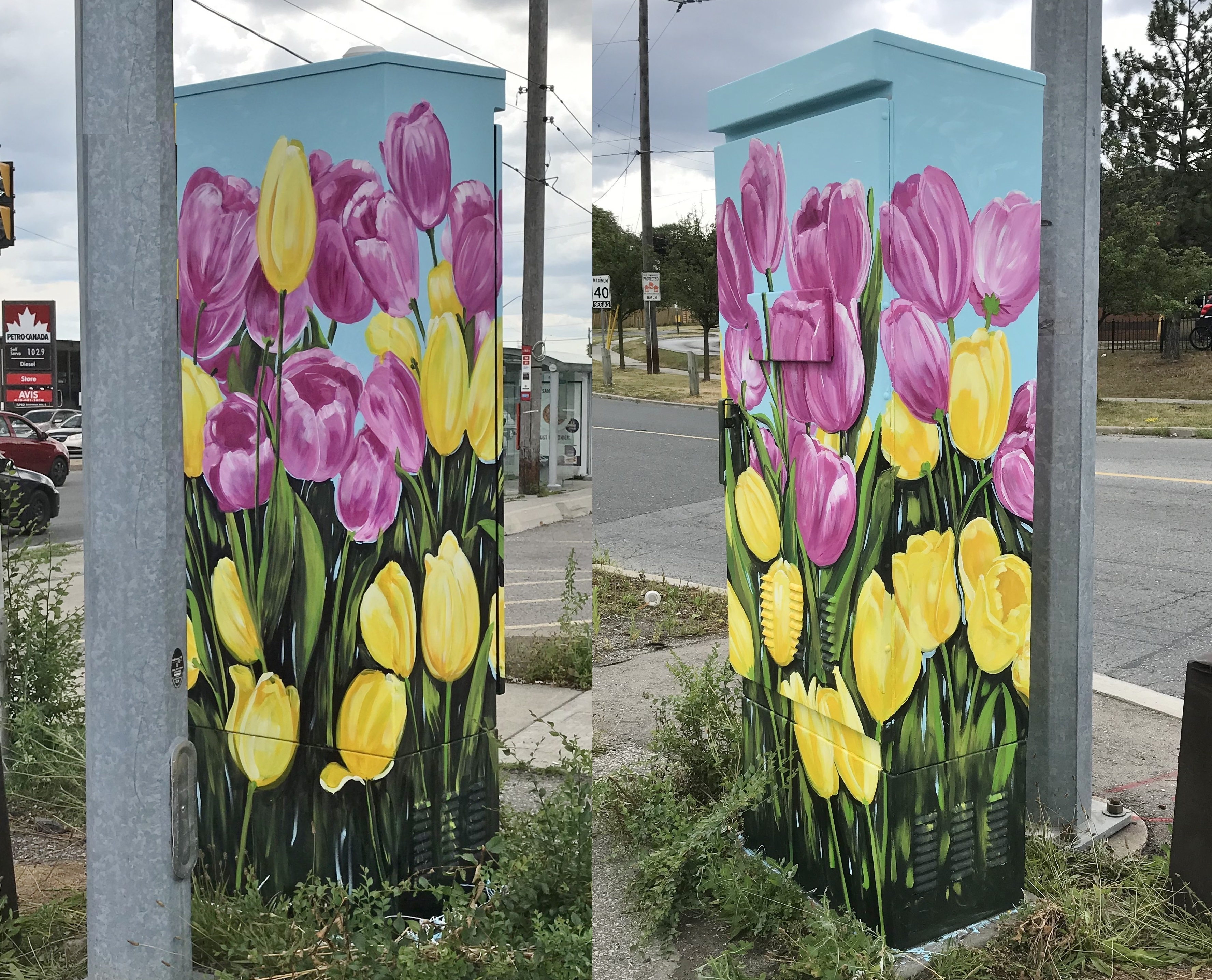 Murals By Marg Outside the Box 2020 3