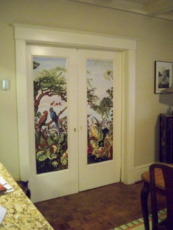 Murals By Marg Oriental Dining Room Doors 2011