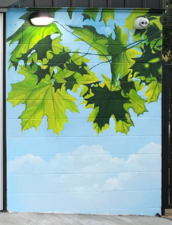 Murals By Marg Green Storage 5