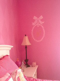 Murals By Marg Girls Pink Room 2013 12.JPG