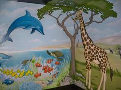 Murals By Marg Safari Mural 28