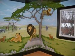 Murals By Marg Safari Mural 34