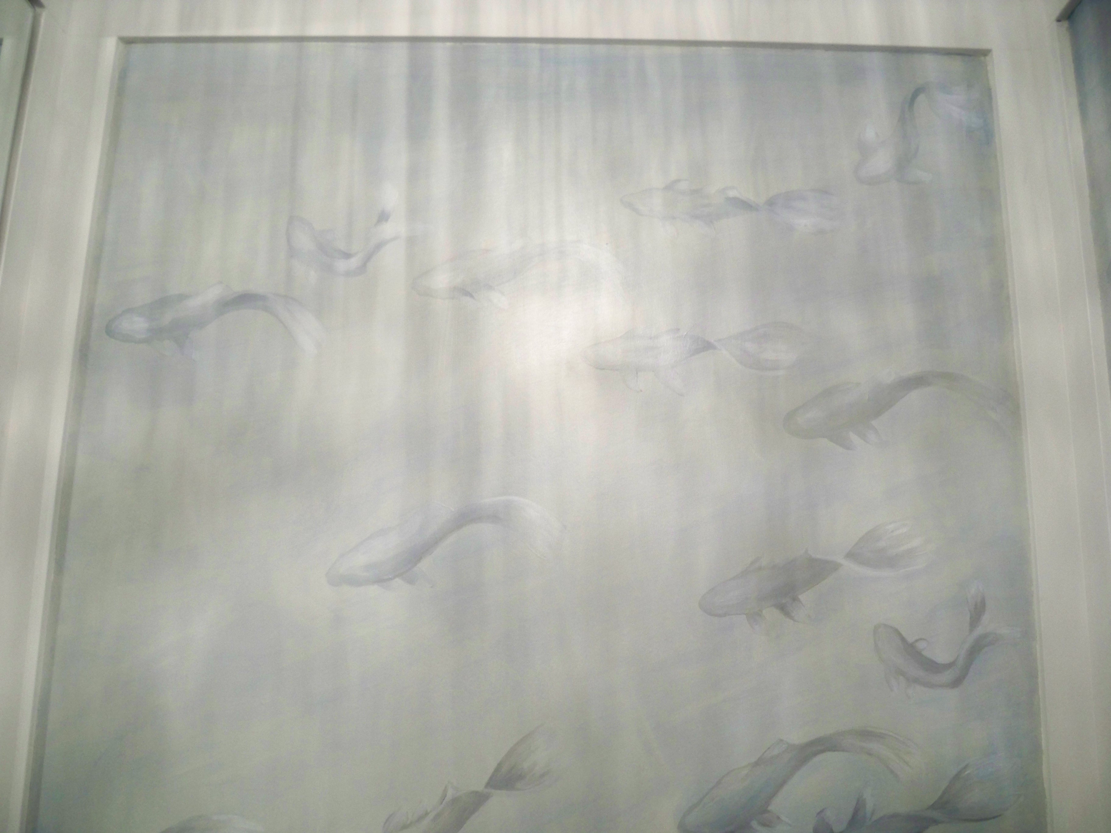 Murals By Marg Hand Painted Wallpaper Koi 11.JPG