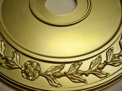 Murals By Marg Hand Painted  Bronze Medallion.JPG