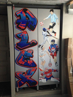 Murals By Marg Alex's Sports Locker 3