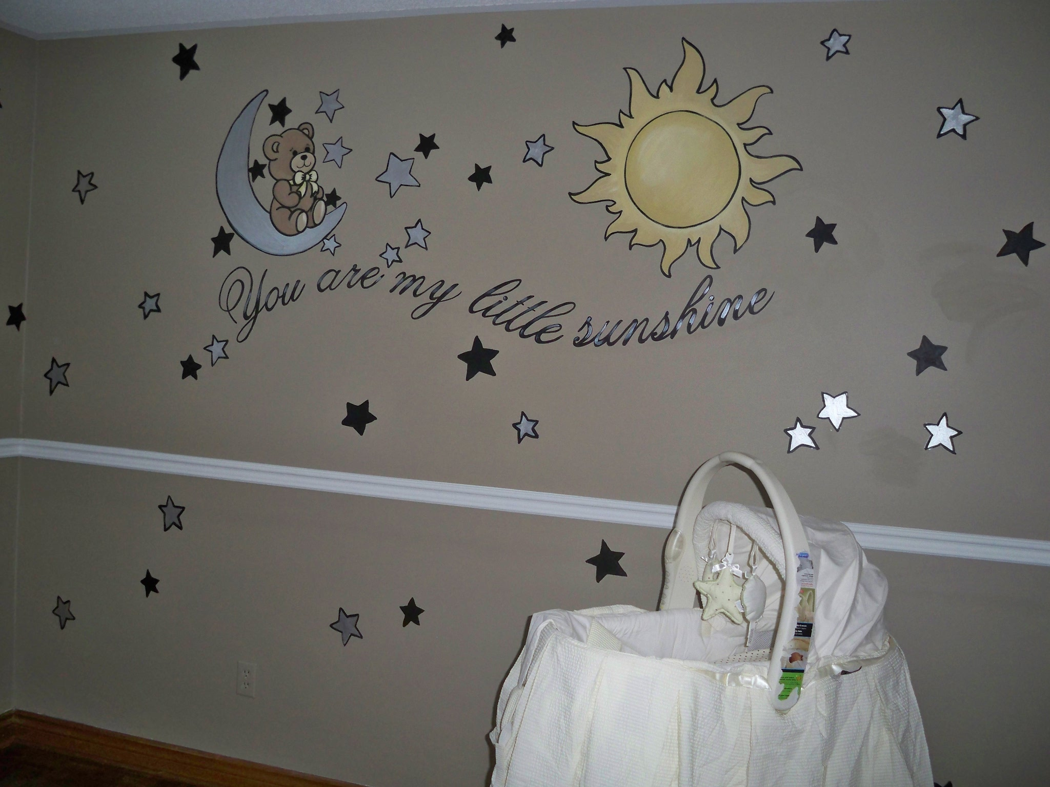 Mural By Marg You are my sunshine