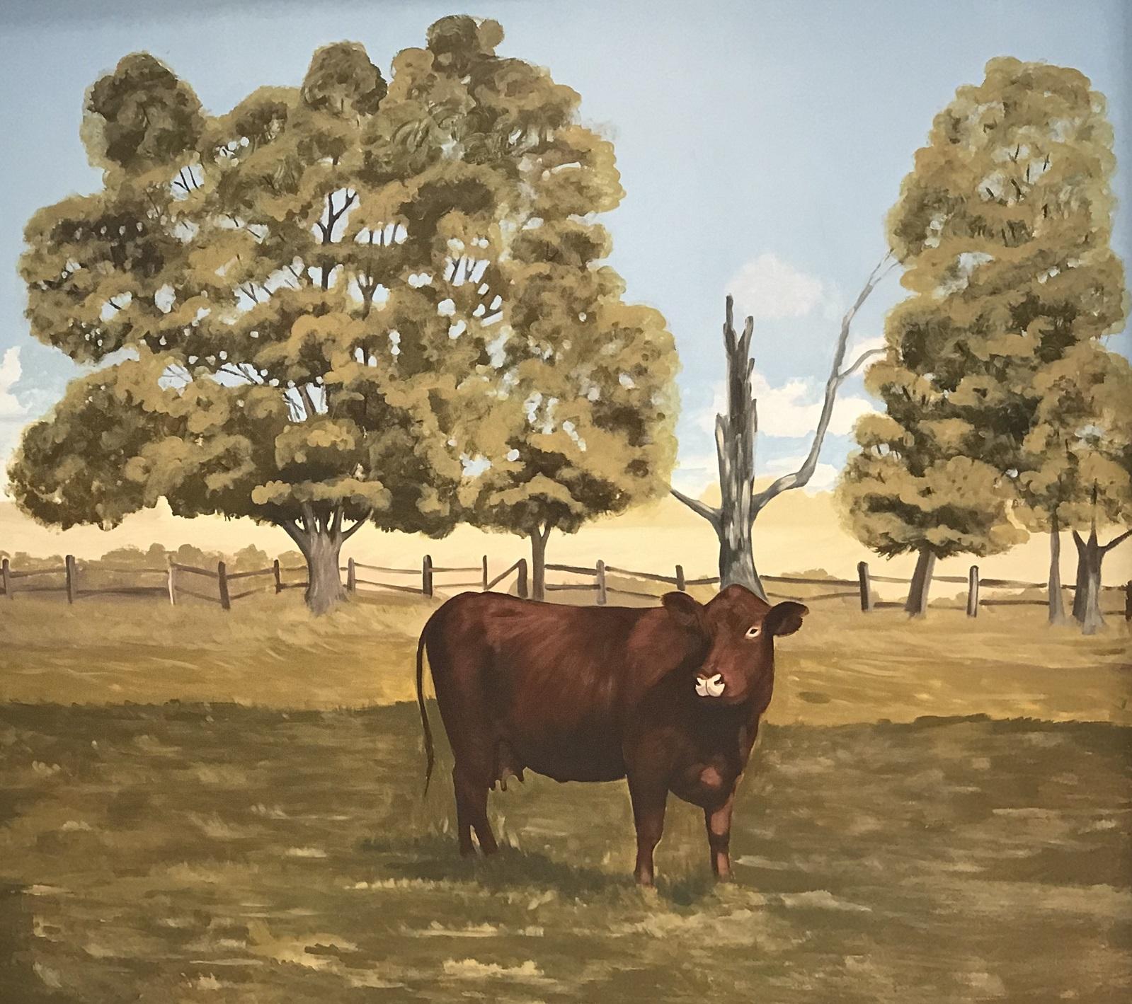 Murals By Marg -- Farm life Cargill 3