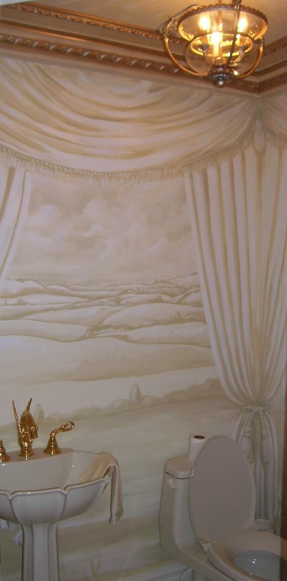 Murals By Marg Drapery Bathroom Mural 1.JPG