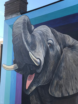 Murals By Marg The Elephant Gates PATCH