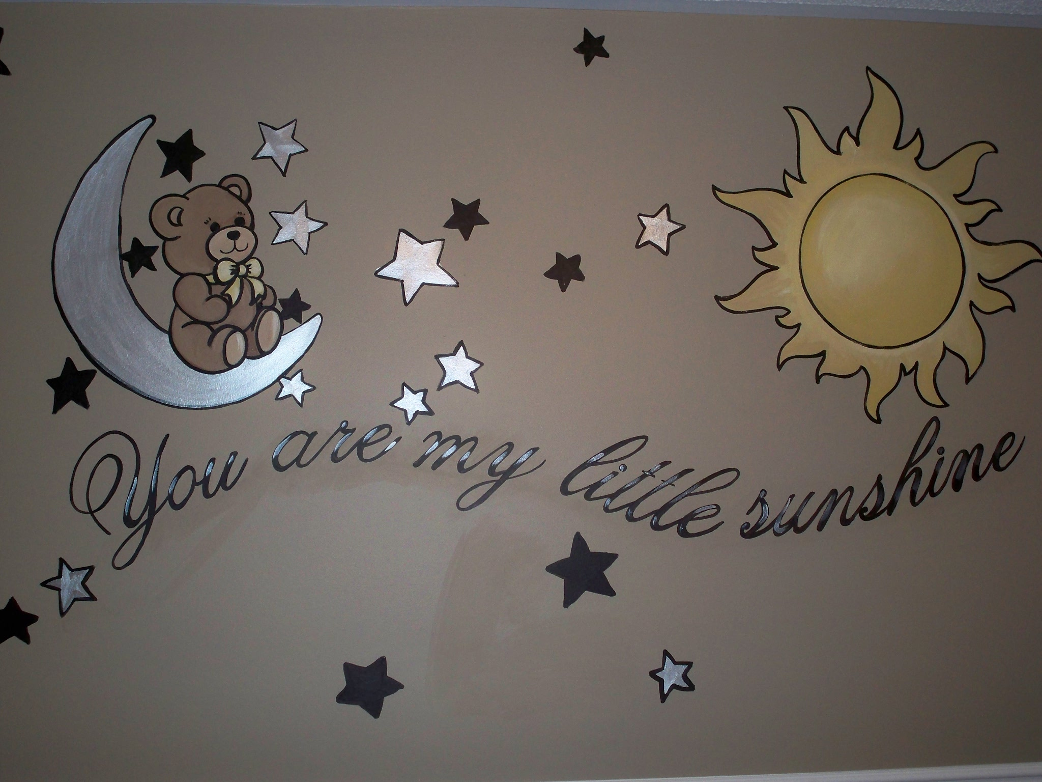 Murals By Marg My Little Sunshine Nursery Mural 1.JPG