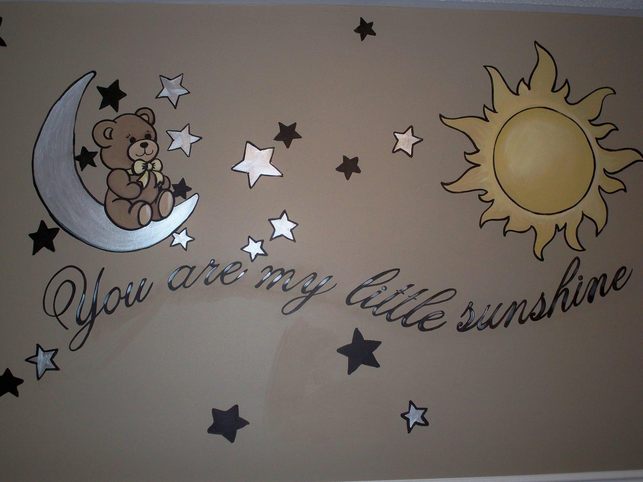 Murals By Marg My Little Sunshine Nursery Mural 1.JPG
