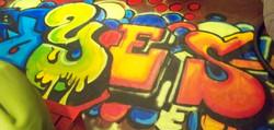 Murals By Marg Graffitti Floorcloth_edited