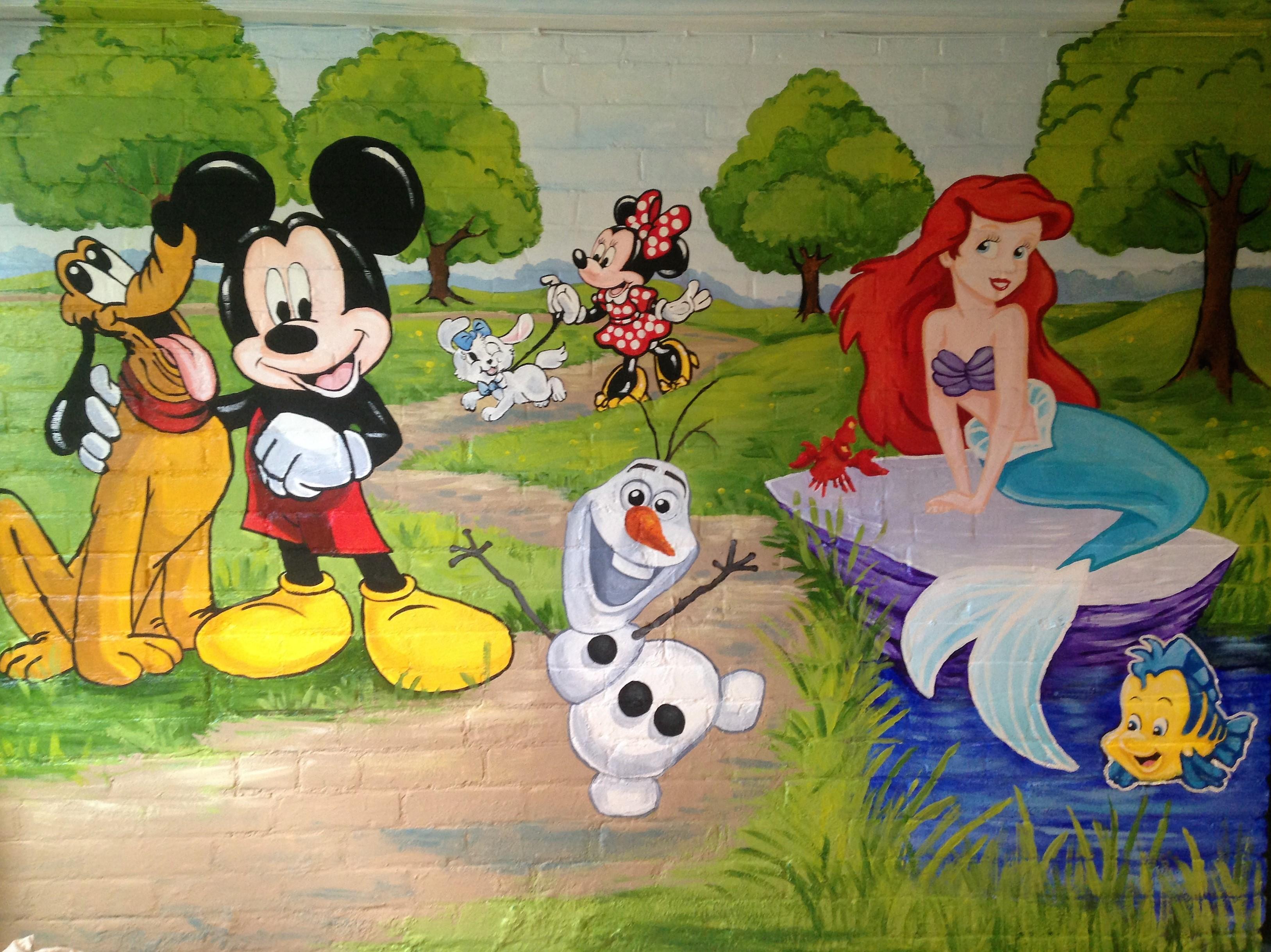 Murals By Marg Frozen Mural 17