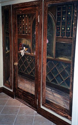 Murals By Marg Wine Cellar Trompe L'oeil 2.JPG