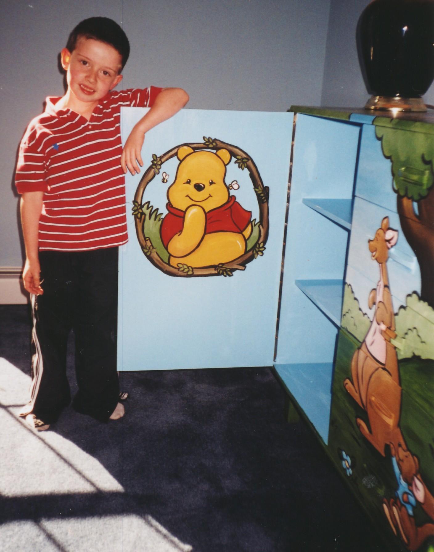 Murals By Marg  Winne the Pooh Armoire 3.jpg