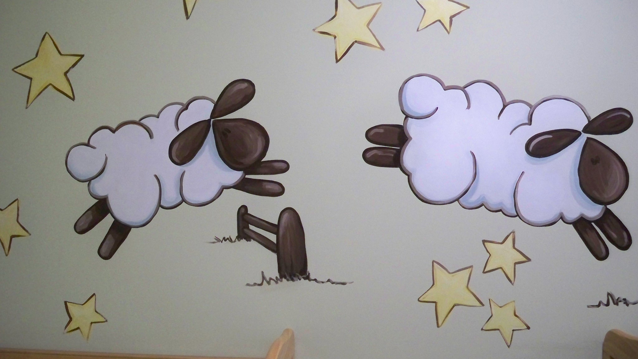 Murals By Marg TBA Sheep Nusery Mural 3.JPG