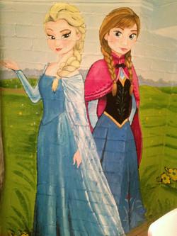 Murals By Marg Frozen Mural 14