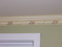 Murals By Marg Hand Painted Molding Girls Room 3.jpg