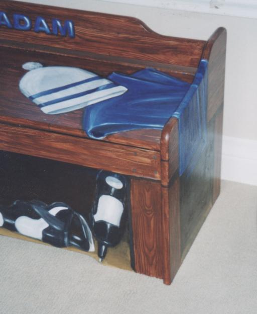 Murals By Marg Hand Painted hockey bench 3.jpg