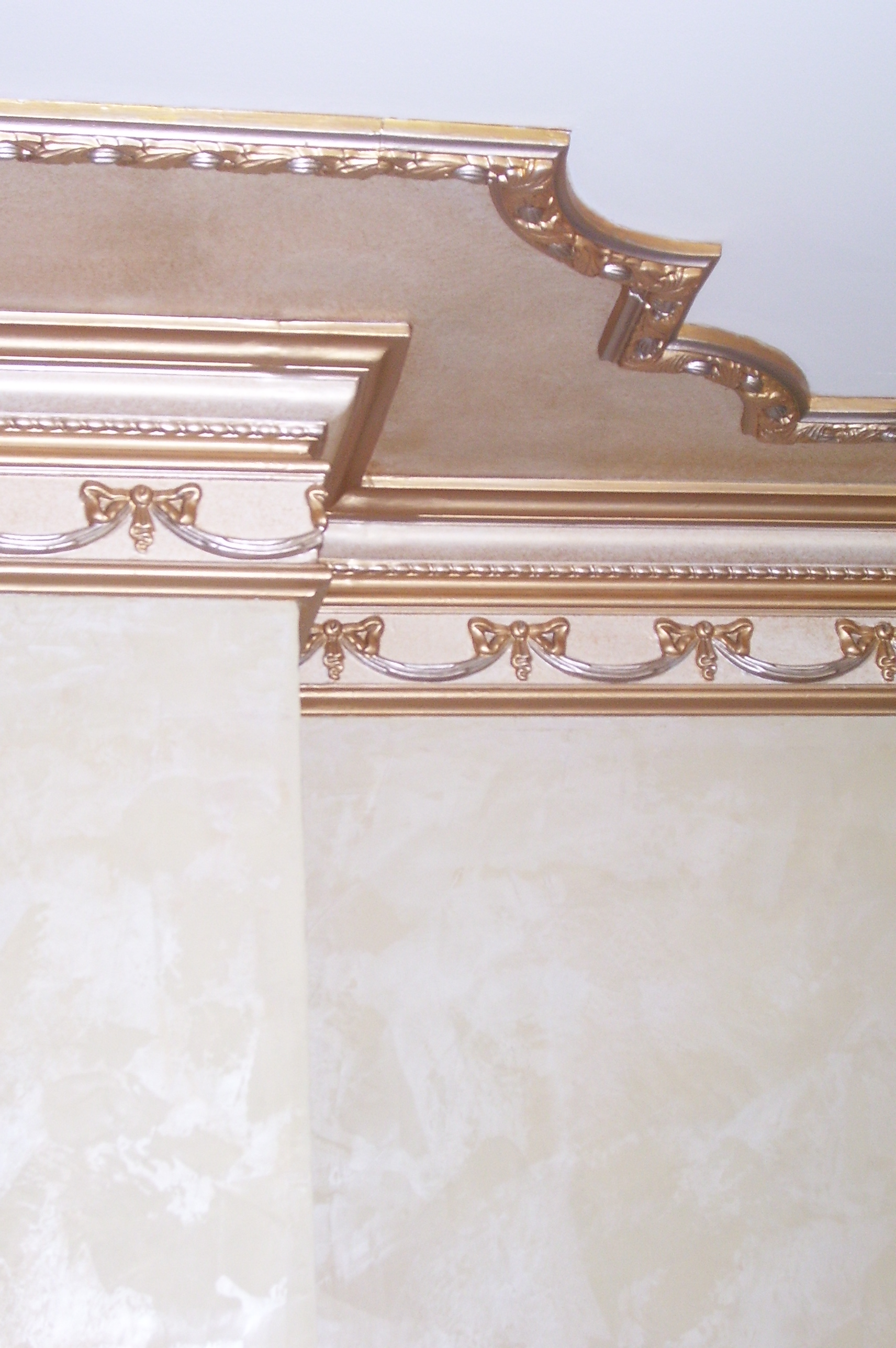 Murals By Marg Gold Hand Painted Parlour molding 2.jpg