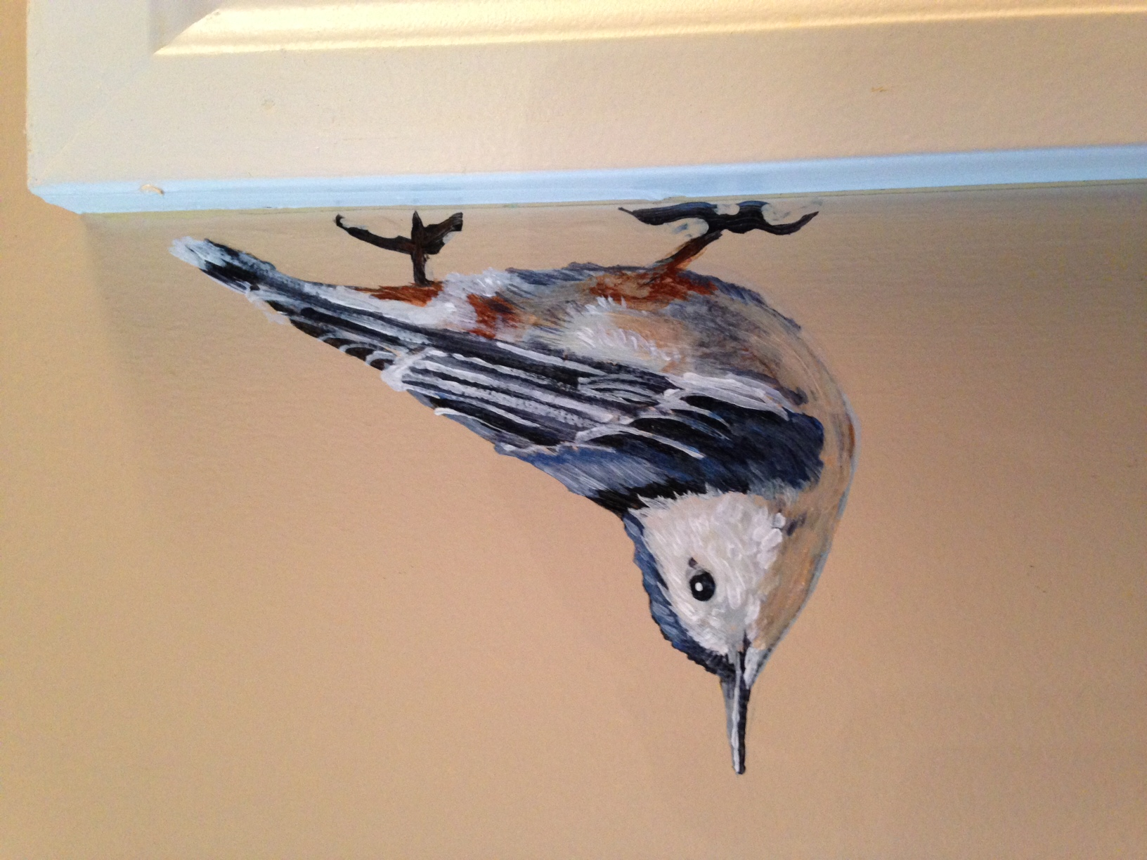 Murals By Marg - nuthatch (2)