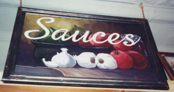 Murals By Marg Sauces Sign