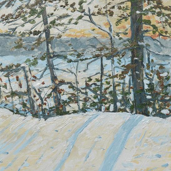 Margaret Cresswell Plein Air Winter at t