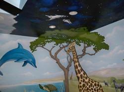 Murals By Marg Safari Mural 27