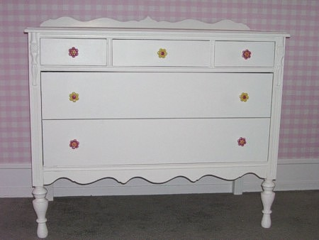Murals By Marg painted dresser