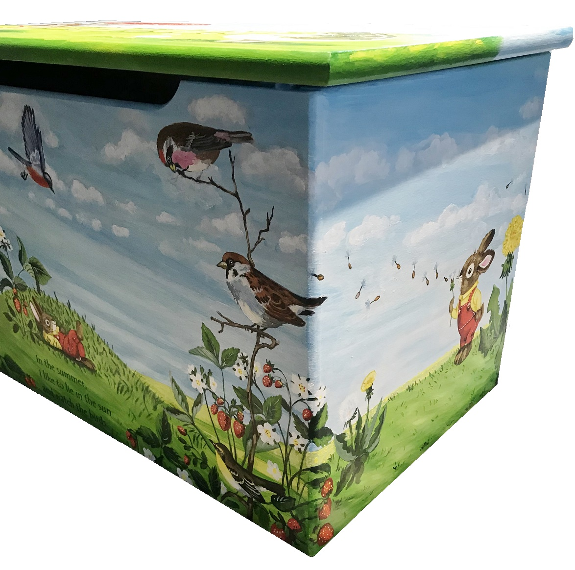 Murals By Marg LiLy June's Toy Box 6