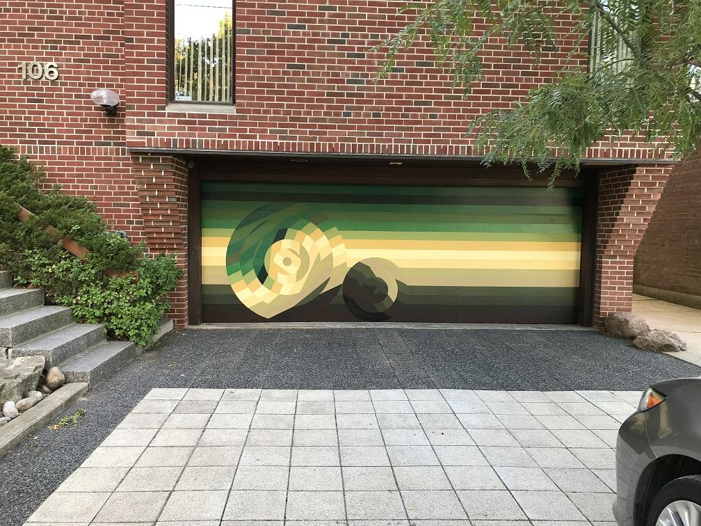 Murals By Marg Gargage Door Restore 1