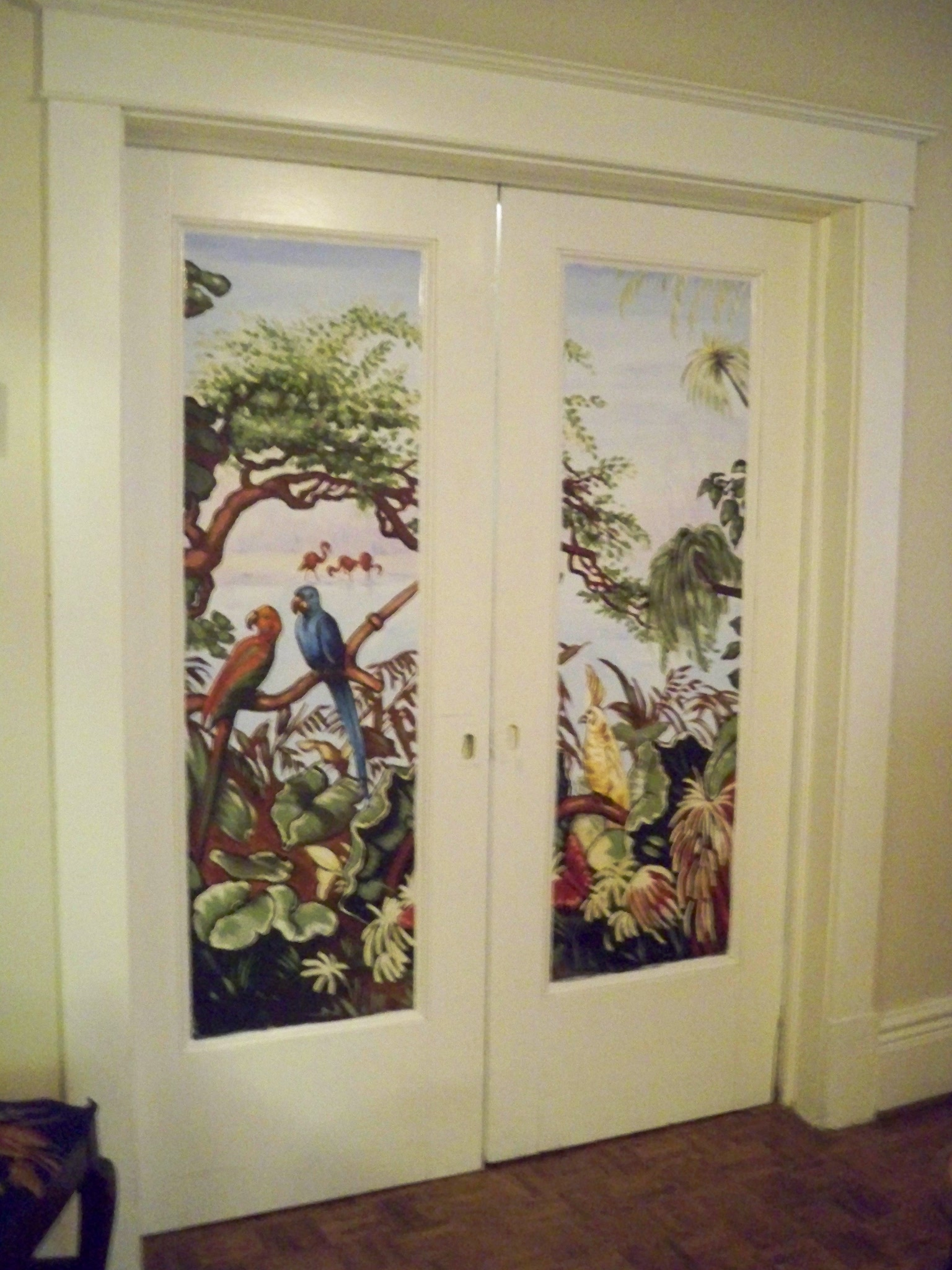 Murals By Marg Parlour Door Mural
